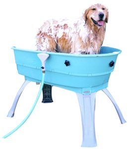 dog wash tub