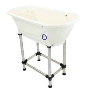 portable dog grooming tub