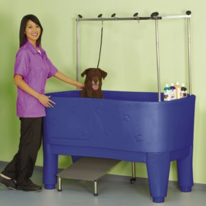 dog grooming tub